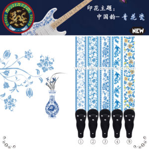 Wholesale Nylon Guitar Straps with Heat Transfer Printing pictures & photos