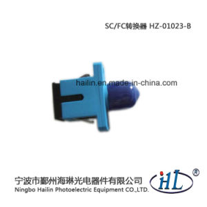 Sc-FC/Sm/PC Plastic Fiber Optic Adapter for Fip Fiber Interface Panel pictures & photos