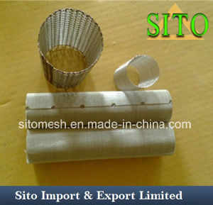 Stainless Steel Woven Wire Mesh Cylinder pictures & photos