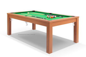 2017 Hot Sales 2 in 1 Dining Billiard Table 6FT pictures & photos