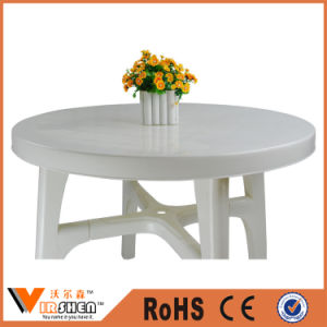 New Fashion Round Plastic Outdoor Garden Furniture Patio Table pictures & photos
