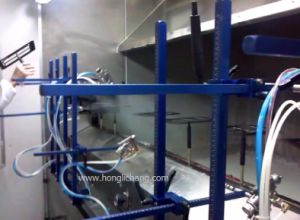 Fixed-Gun UV Automatic Spray Painting Line pictures & photos