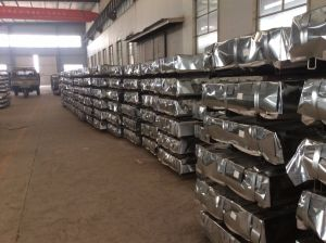 Zinc Coated Steel Roofing Sheet pictures & photos