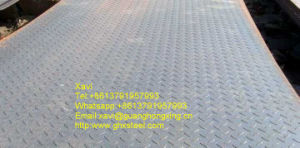 Hot Rolled Steel Checkered Plate, Checkered Plate Q235 pictures & photos