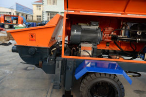 Best Selling Remote Control Concrete Pump with Electric Engine pictures & photos