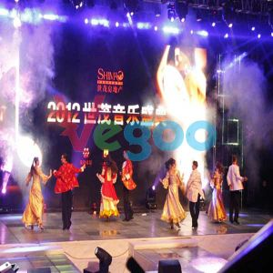 Performance Stage HD Video Wall LED Display for Rental 3.91mm pictures & photos