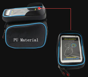 Outdoor Waterproof Cycling Bike Front Bag Top Tube Frame Bicycle Phone Bag pictures & photos