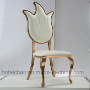 Factory Price New Modern Stainless Steel Wedding Chair with Party pictures & photos