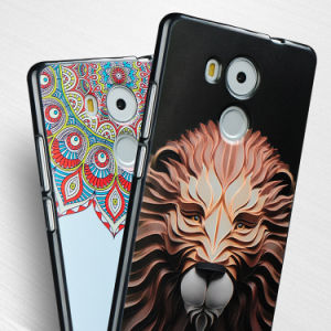 Custom Embossed 3D Printing Cell Phone Cover for Huawei Mate 8 pictures & photos