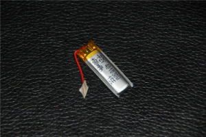 401030 3.7V 80mAh Li-Po Battery Rechargeable Battery with Protect Circuit for Toy Bluetooth Digital Product pictures & photos