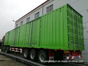 14.5 M 3 Axles Container Truck Trailer pictures & photos