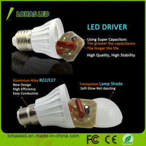China Supplier LED Plastic Bulb Light Ce RoHS Energy Saving LED Bulb Light High Power 7W SMD5730 LED Bulb pictures & photos