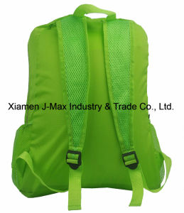 Water Resistant Lightweight Handy Foldable Backpack for Packable Hiking Daypack Camping Sports Cycling School Travel pictures & photos