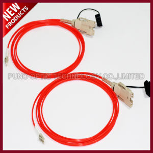 2 Cores Fiber Optical FDDI to FDDI OM2 Multimode Cable pictures & photos