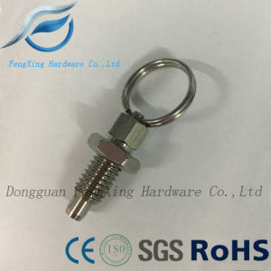 Index Plunger with Ring Pull Spring Loaded Retractable Locking Pin