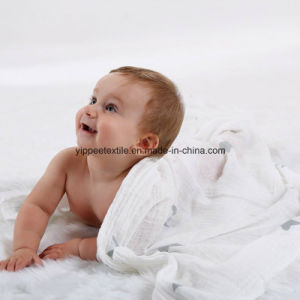 70%Bamboo 30%Cotton Thick Muslin Swaddle pictures & photos