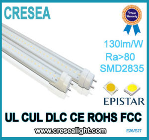 5 Years Warranty UL cUL Dlc SMD Chips 1200mm 16W T8 LED Tube pictures & photos