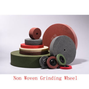 "4""X1"" 8p Abrasive Non Woven Polishing Flap Wheel Polishing Wheel pictures & photos"