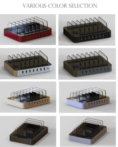 7 Port USB Charging Station USB Charging Hub for Sale pictures & photos