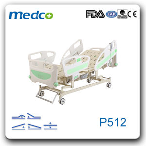 Multi-Function Electric Hospital Bed, ICU Equipment Bed, Part for Electric Adjustable Bed pictures & photos
