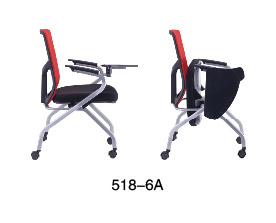 Mesh Training Office Folding Chair with Rotary Tablet pictures & photos
