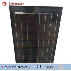 Black Glass Long Size Mono Solar Panel pictures & photos