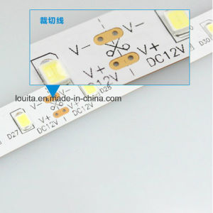 White Color 60LED/M Flexible SMD2835 LED Strip Light pictures & photos