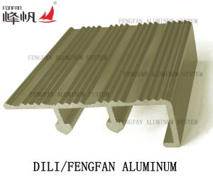Building Material Aluminum Heavy Duty Stair Nosing pictures & photos