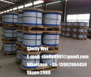 Galvanized Steel Wire Strand ASTM 475/498, BS183, IEC60888, Jisg 5076 pictures & photos