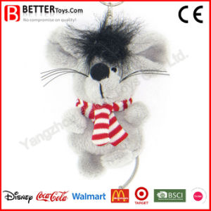 Cheap Stuffed Plush Animal Mouse Keyrings pictures & photos