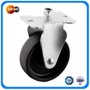 PP Wheels Plate Swivel Casters pictures & photos
