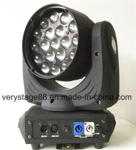 19 12W LED Zoom Beam Moving Head Event Light pictures & photos