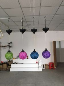Metal Hanging Solar Light Ball for Graden and Home Decoration pictures & photos