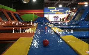 Newest Children Toy Indoor Trampoline Park with Basketball Game (014) pictures & photos