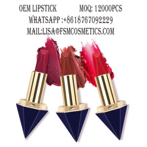2017 High Quality New Style Cosmetic Diamond Shape Lipstick pictures & photos