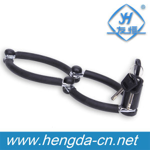 Yh1363 High Quality Bike Accessory Safety Bike Foldable Wheel Bicycle Lock pictures & photos