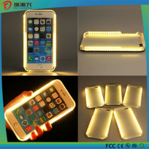 Rechargeable Selfie LED light back cover for iPhone 7 / 7plus pictures & photos