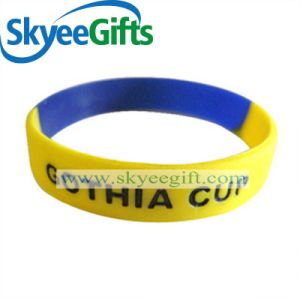 Promotional Gift Custom Silicone Wristband with Cheaper Price pictures & photos