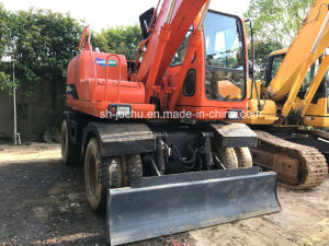 Used Doosan Dh140W-7 Wheel Excavator pictures & photos