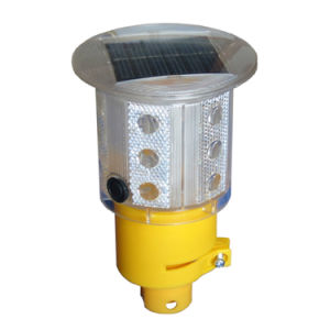 Solar Cell Traffic Pole Warning Light for Traffic Cones pictures & photos