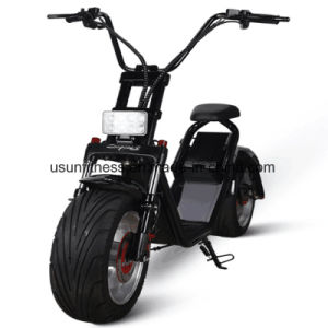 Fat Tire Electric Scooter with Removable Battery pictures & photos