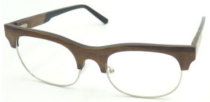 Oxwa162554 Handmade Wooden Optical Glasses Quality Optics Eyeglass Hotsale Clubmaster Style pictures & photos