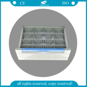 AG-Mt011A1 One-Piece ABS Plastic Top Board High Quality ABS Medicine Trolley pictures & photos