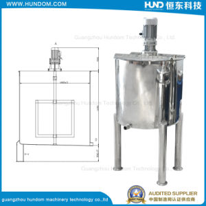 High Quality Stainless Steel Food Mixer Single Layer Mixing Tank pictures & photos
