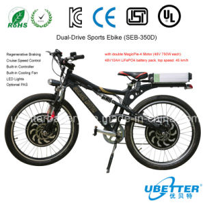 Custom Battery Pack Lithium Ion Battery LiFePO4 Battery Pack 48V 120ah for E-Bike pictures & photos