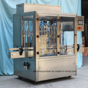 Automatic Bottling Paste and Liquid Filling Machine for Engine Oil Blake Liquid and Coolant pictures & photos