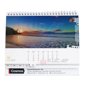 Eco-Friendly Paper Customized Company Yearly Calendar pictures & photos