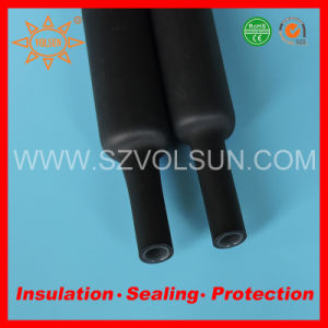 Environmentally Friendly Glue Lined Polylefin Heat Shrink Tube pictures & photos