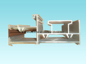 Rail Profile Aluminium Alloy Extrusion Profile for Door and Window pictures & photos