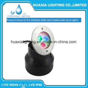 IP68 Stainless Steel Waterproof Underwater LED Recessed Pool Light pictures & photos